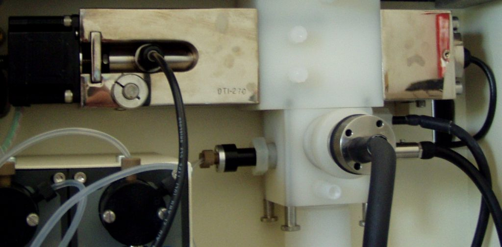 Acoustic spectrometry / particle size