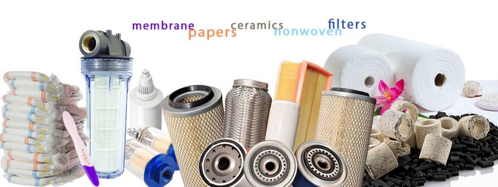 Membranes, Filters, Textiles
