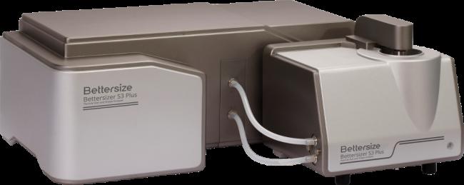 Der Bettersizer S3 Plus zur Bestimmung von Partikelform mittels statischer Lichtstreuung und dynamischer Bildanalyse per CCD-Kamera.