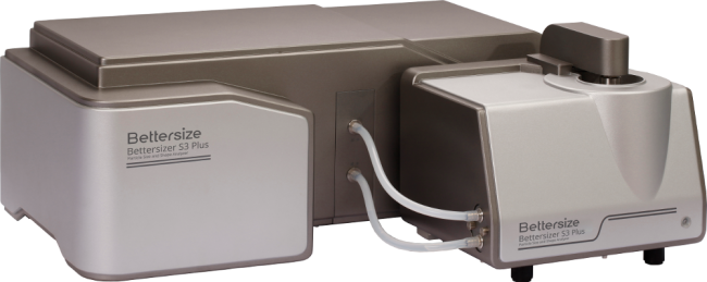 The Bettersizer S3 Plus for the determination of particle shape by means of static light scattering and dynamic image analysis via CCD camera.