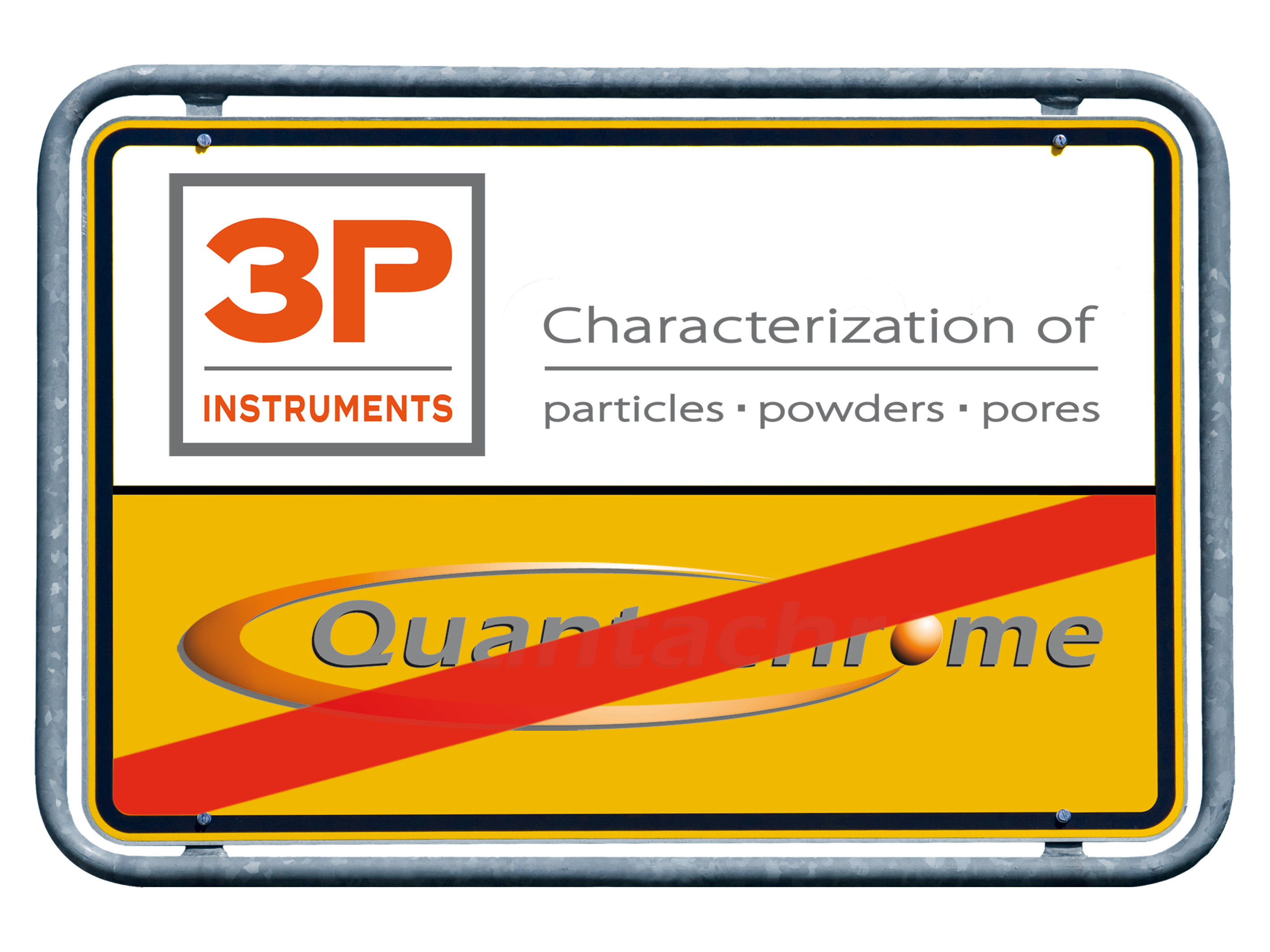 QUANTACHROME GmbH & Co. KG turns into 3P INSTRUMENTS