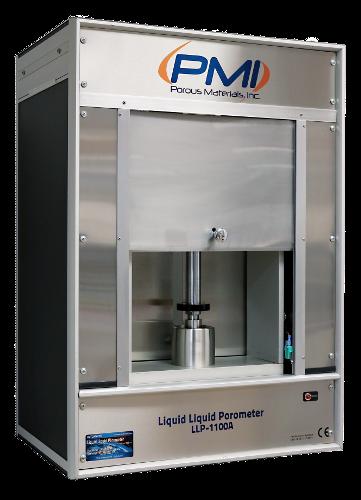 Liquid-Liquid Porometer, poröse Materialien, Hohlfasern, flache Membranen, Filtermedien, Keramiken