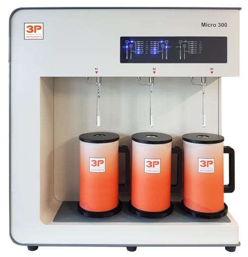 3P micro 300, Gasdsorption, Physisorption