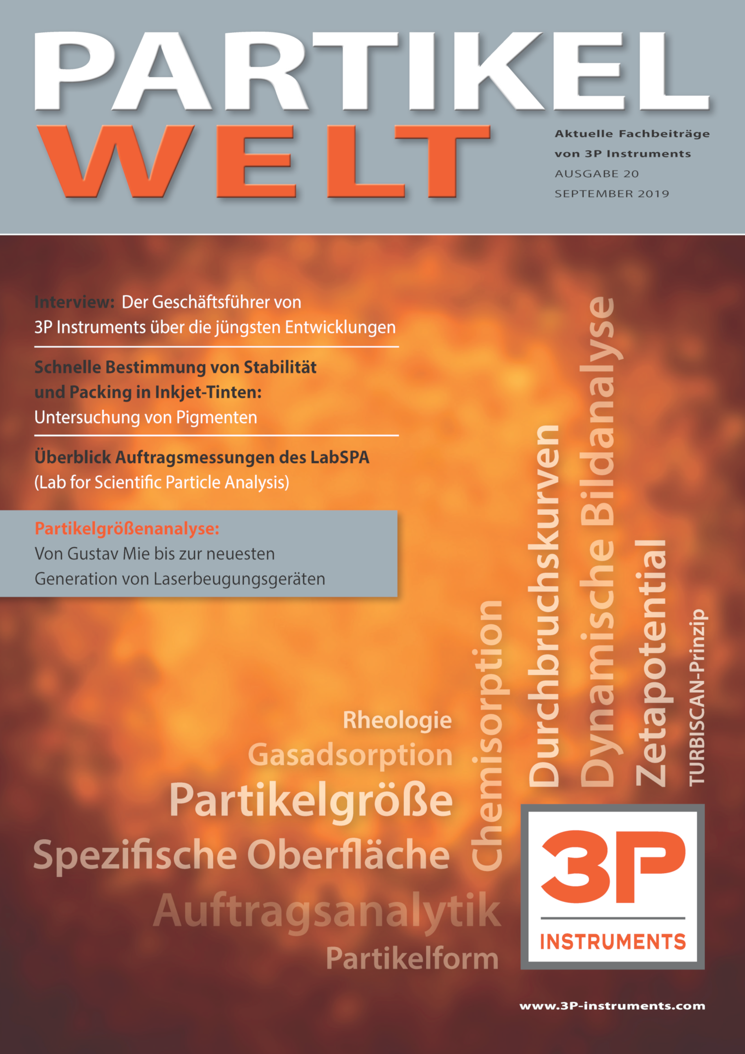 3P Partikelwelt 20 Cover