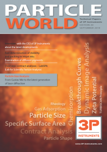 3P Particle World 20 Cover