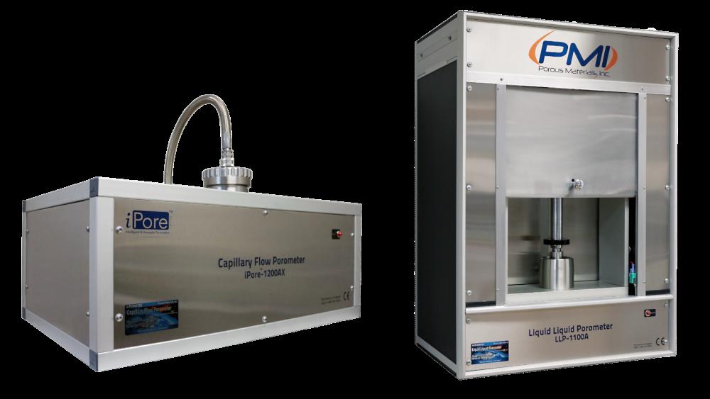 PMI Capillary Flow Porometer and Liquid Liquid Porometer