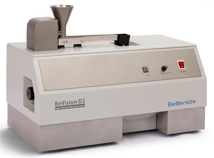 Bettersize BeVision D2-D: Dynamische Bildanalyse für Trocken- und Nassdispergierung