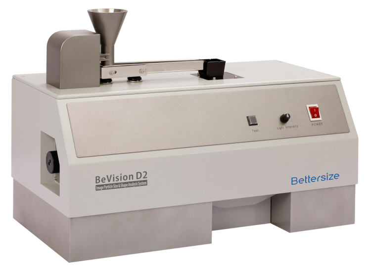 Bettersize BeVision D2-D: Dynamic Image Analysis for dry and wet dispersion