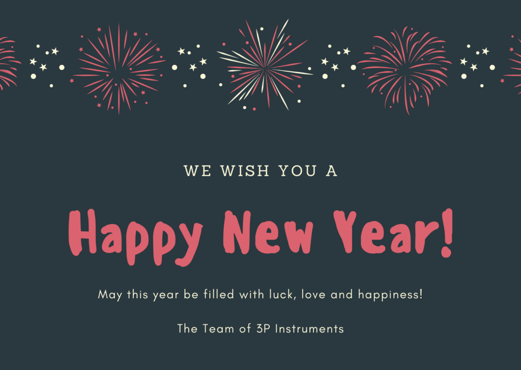 3P Instruments wishes a Happy New Year 2020