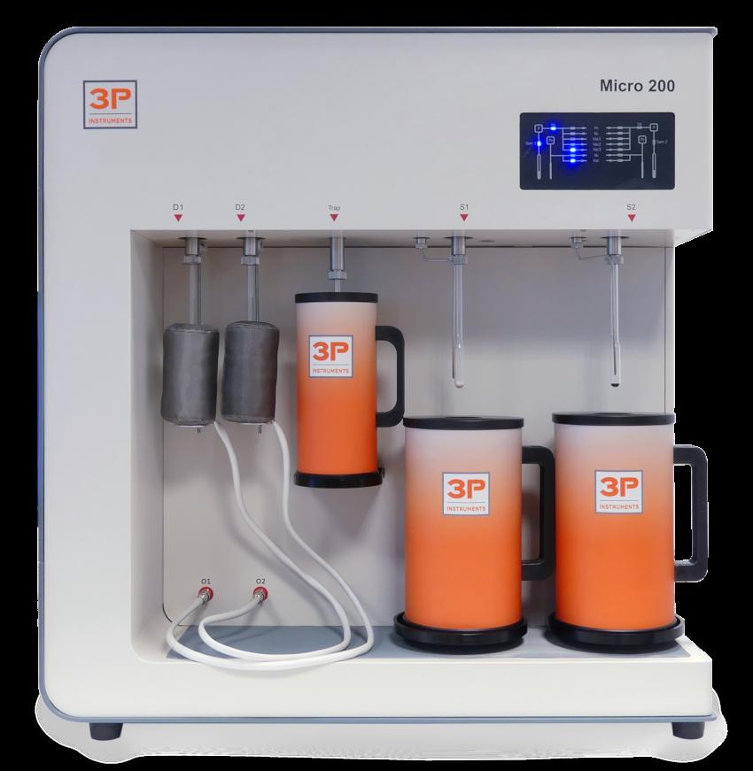 3P micro 200 physisorption analyzer