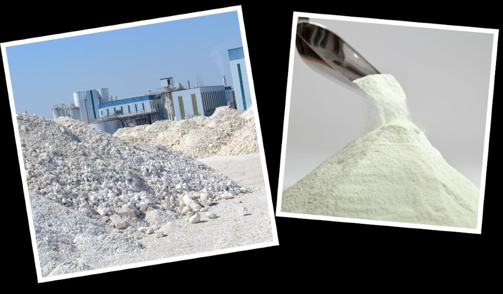 Pulverhaufwerke in der Industrie