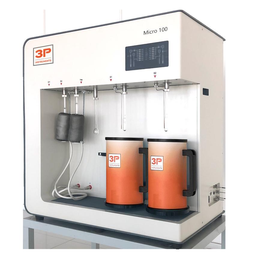 3P micro 100 physisorption analyzer