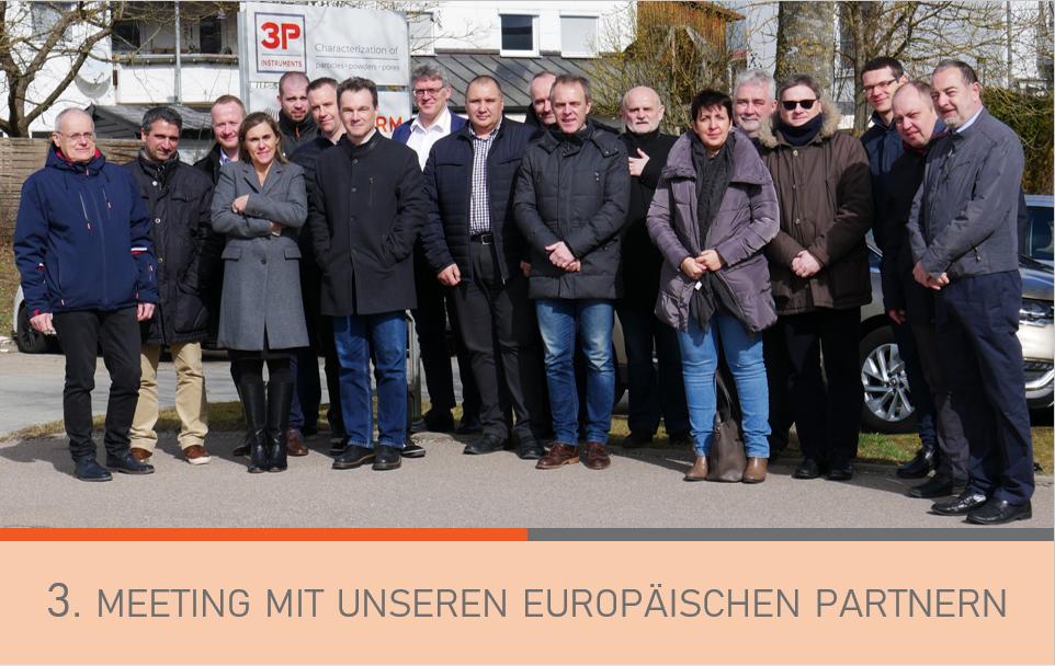 Teilnehmer des 3P European Sales Meeting 2020