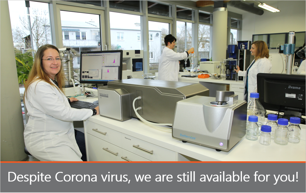 3P Instruments works despite Corona virus