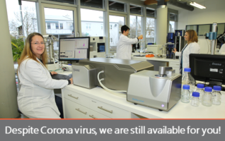 3P Instruments works despite Corona virus