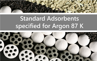 Standard Adsorbents specified for Argon 87 K
