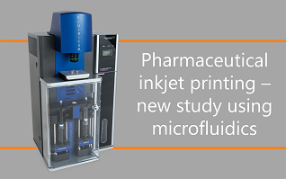 Pharmaceutical inkjet printing – new study using microfluidics