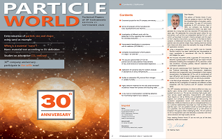 Download free application magazine Particle World 21