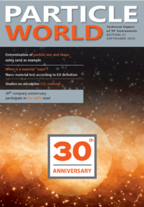 3P Instruments Particle World 21 Cover