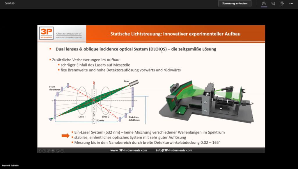 3P Instruments Online Weiterbildung 2020
