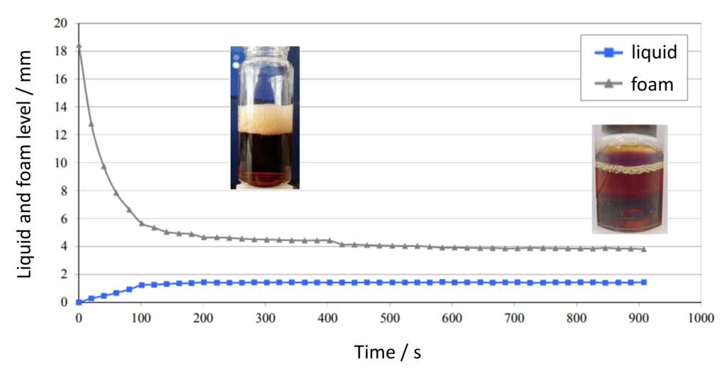 Beer foam stability analysis