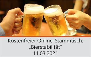 Stammtisch Bierstabilität 11.03.21