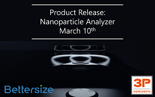 Product launch event on March 10th – Nanoparticle analyzer