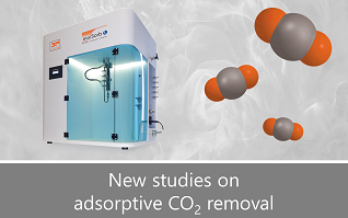 New studies on adsorptive removal of CO2