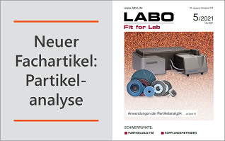 Neuer Fachartikel: Partikelmessungen an Korund-Schleifmittel